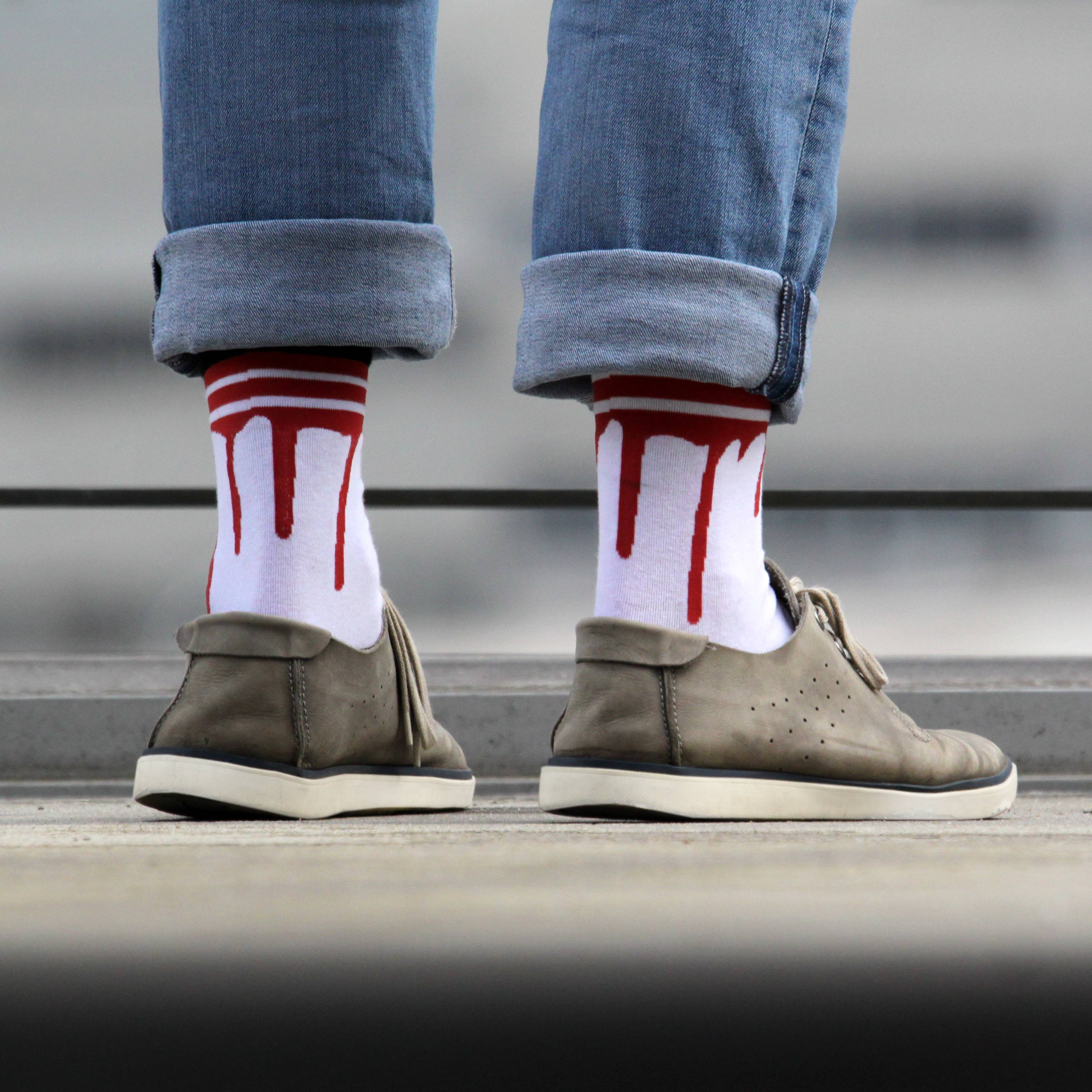 Stylische Socken
